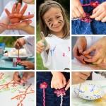 Des activités manuelles à faire avec les copains des enfants !