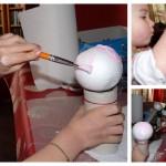 peinture boule