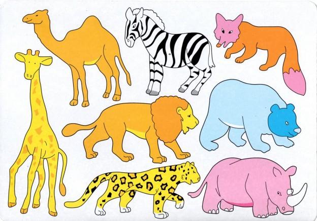 Pochoirs représentant des animaux