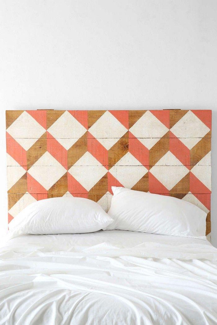 Faire une tete de lit en bois soi meme - Tete de lit en bois a faire soi meme ...
