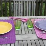 Set de table au crochet
