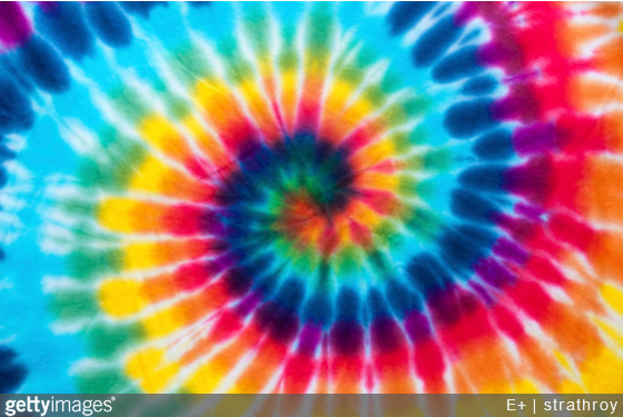 Un motif multivolore et hippie pour décorer
