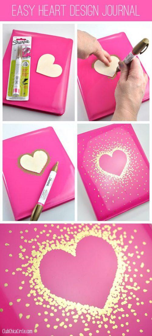 Comment faire un cahier sharpie soi-même ?